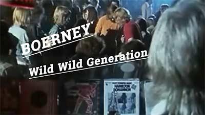 Titelbild Video für den Song Wild wild Generation. Deutschrocker Boerney